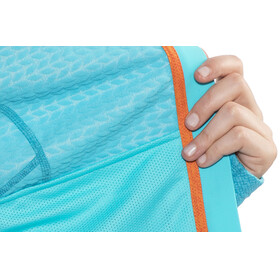Mammut Eiswand Guide ML Midlayer Dames blauw/turquoise